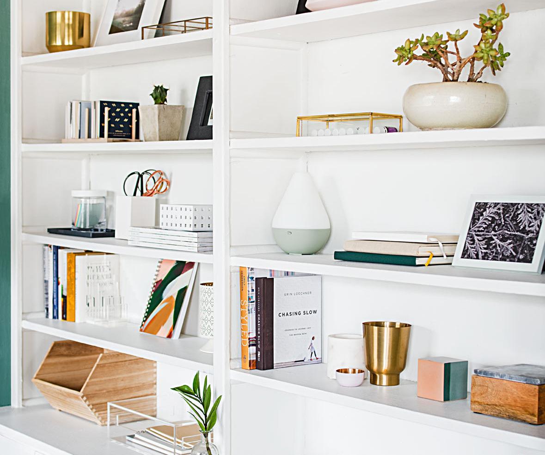 Organize Shelf Space