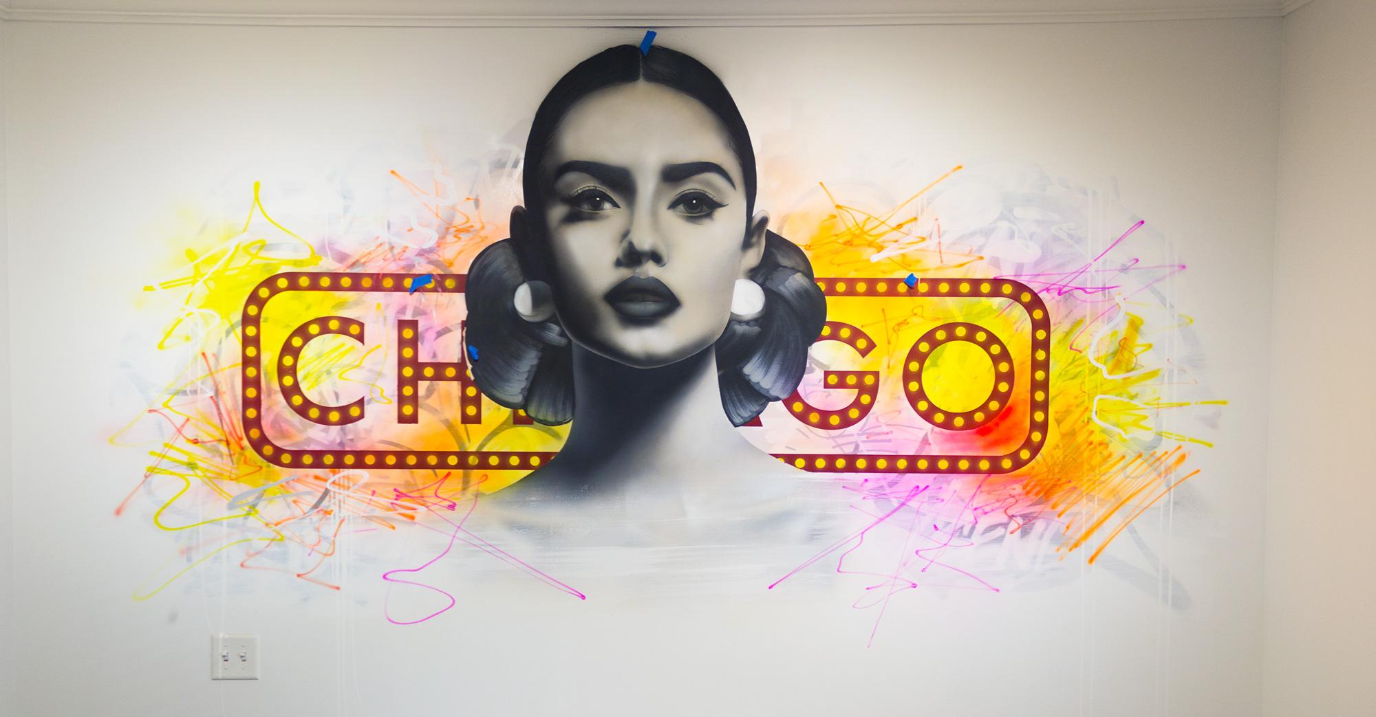 Asend mural