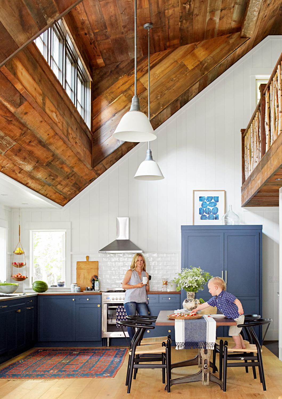 Horvitz cabin kitchen