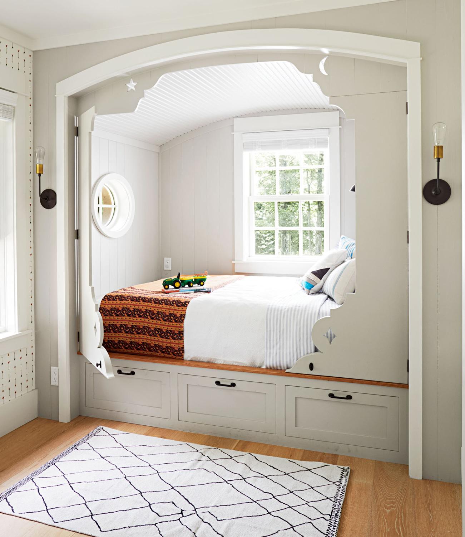 Horvitz cabin bed drawers