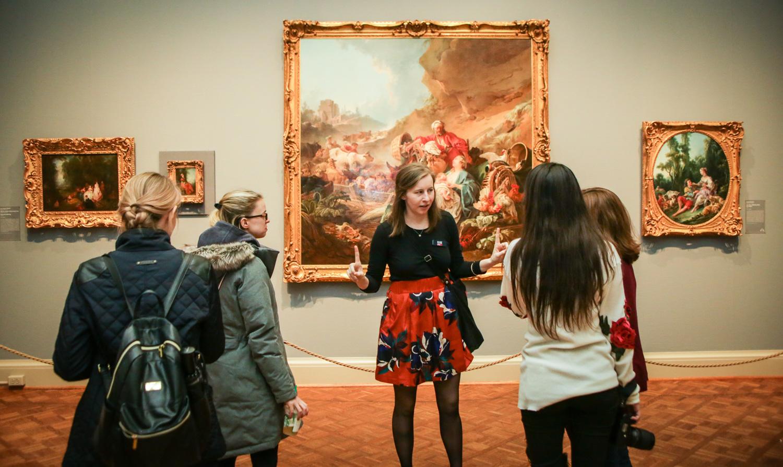 Art Institute of Chicago Museum Hack tour