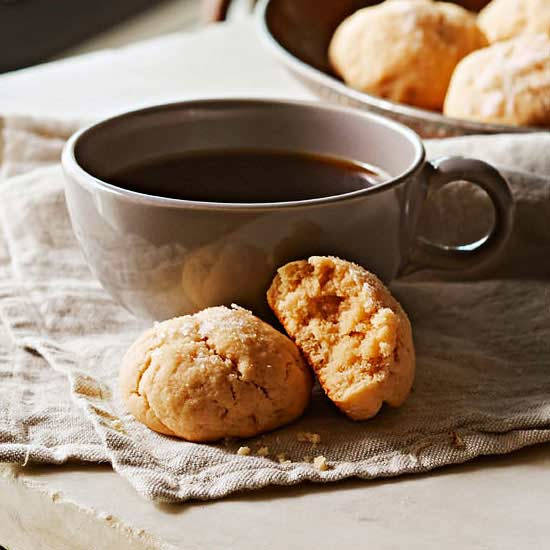 Lemon Hazelnut Sea Salt Cookies