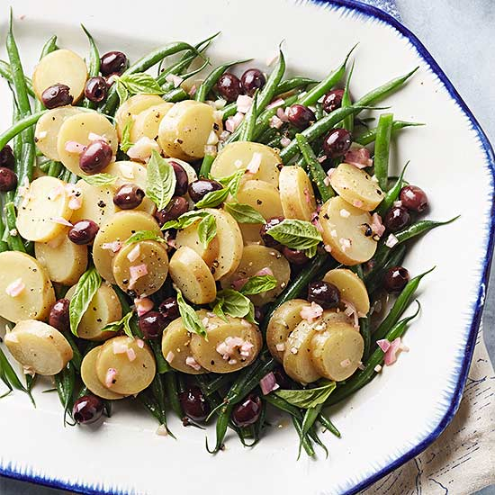 Mediterranean Potato and Green Bean Salad