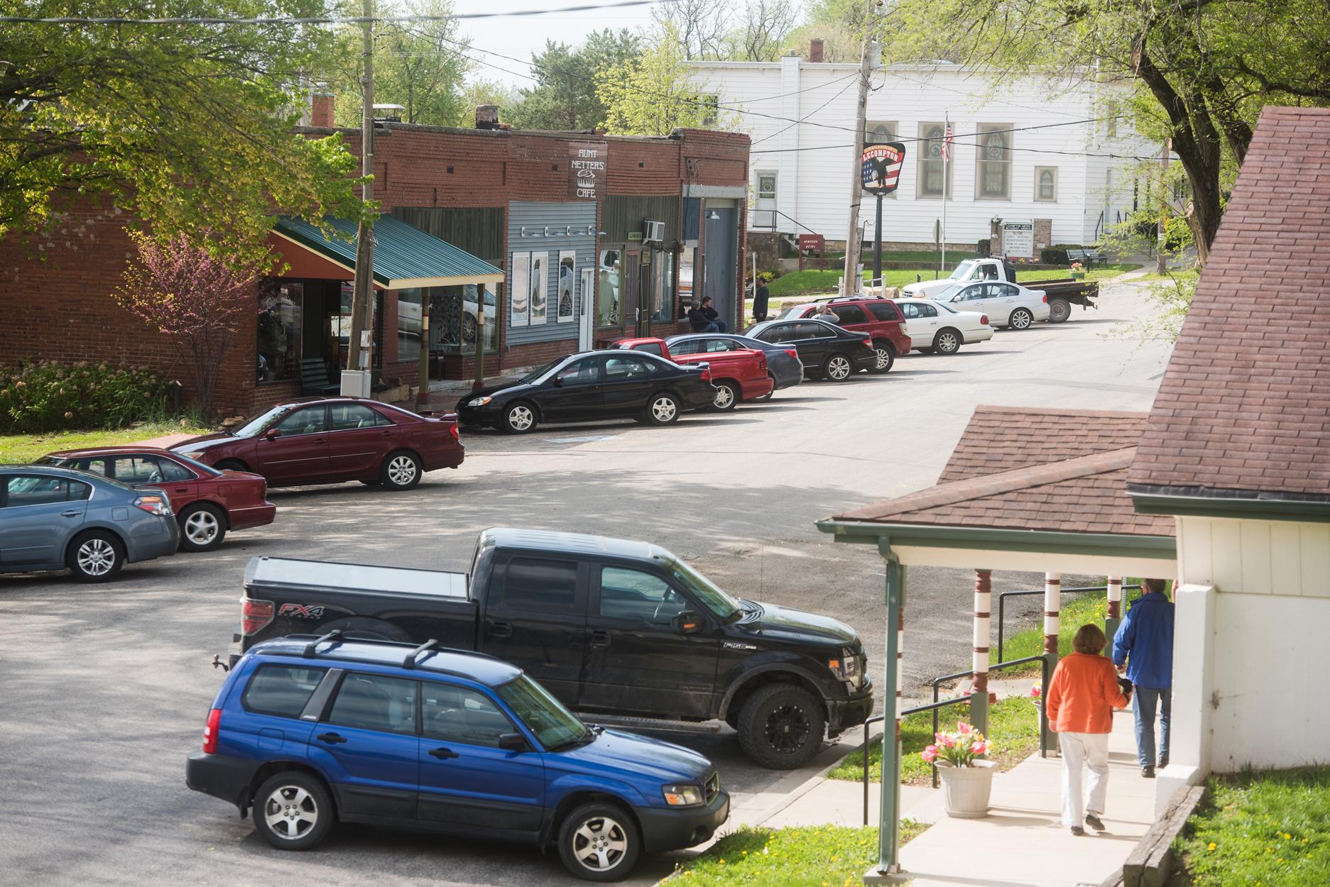 Downtown Lecompton