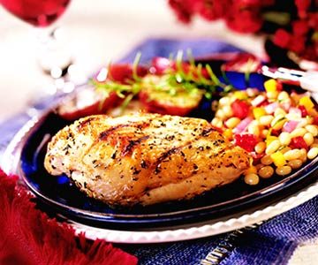 Wine Marinated Grilled Chicken Breasts Midwest Living