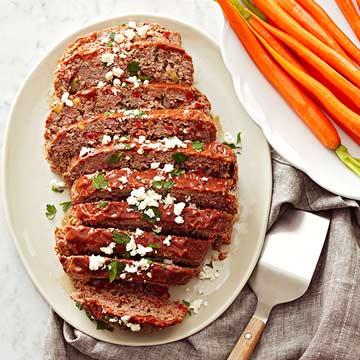 Italian-Style Slow Cooker Meat Loaf