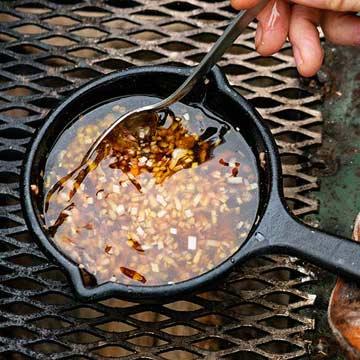 Chile Garlic Topping