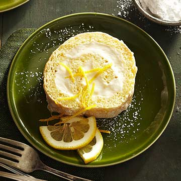 Cream-Filled Cake Roll