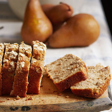Triple-Spiced Pear Bread