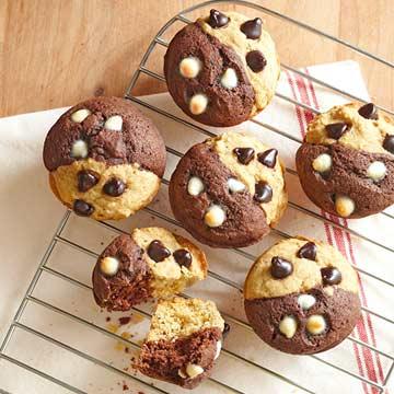 Half and Half Muffins