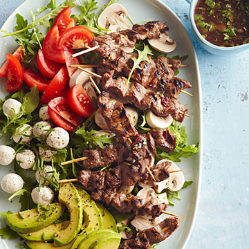 Sweet and Spicy Steak Salad
