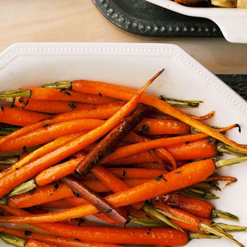 Cinnamon Carrots with Maple Thyme Butter