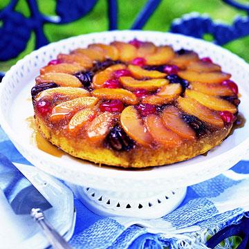 Peachy-Keen Upside Down Cake