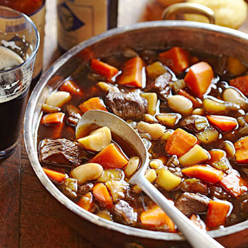 Spicy Beef, Bean and Vegetable Stew