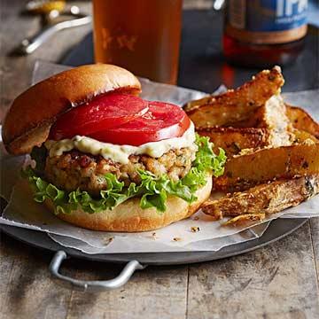 Old Bay Burger