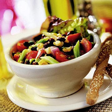 Garden Corn and Black Bean Salad