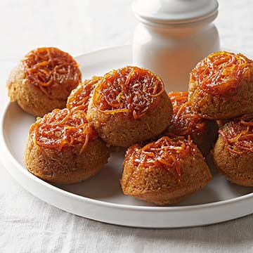 Carrot and Honey Upside-Down Minis