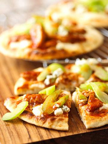Buffalo Chicken Pizzas