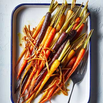 Maple-Glazed Carrots with Ginger