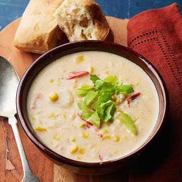 Buffalo Corn-Potato Chowder