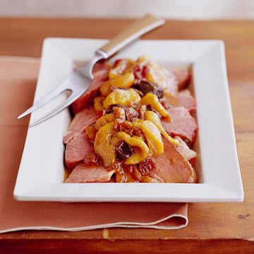 Orange-Spiced Corned Beef with Dried Fruit