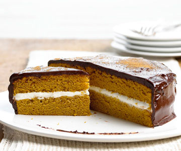 Pumpkin Cream Cheese Sandwich Cake