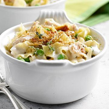 Garlic Parmesan Chicken and Noodles
