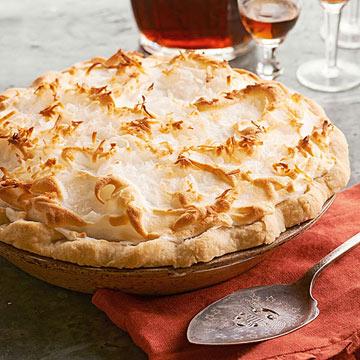 Vertamae Grosvenor's Coconut Custard Meringue Pie