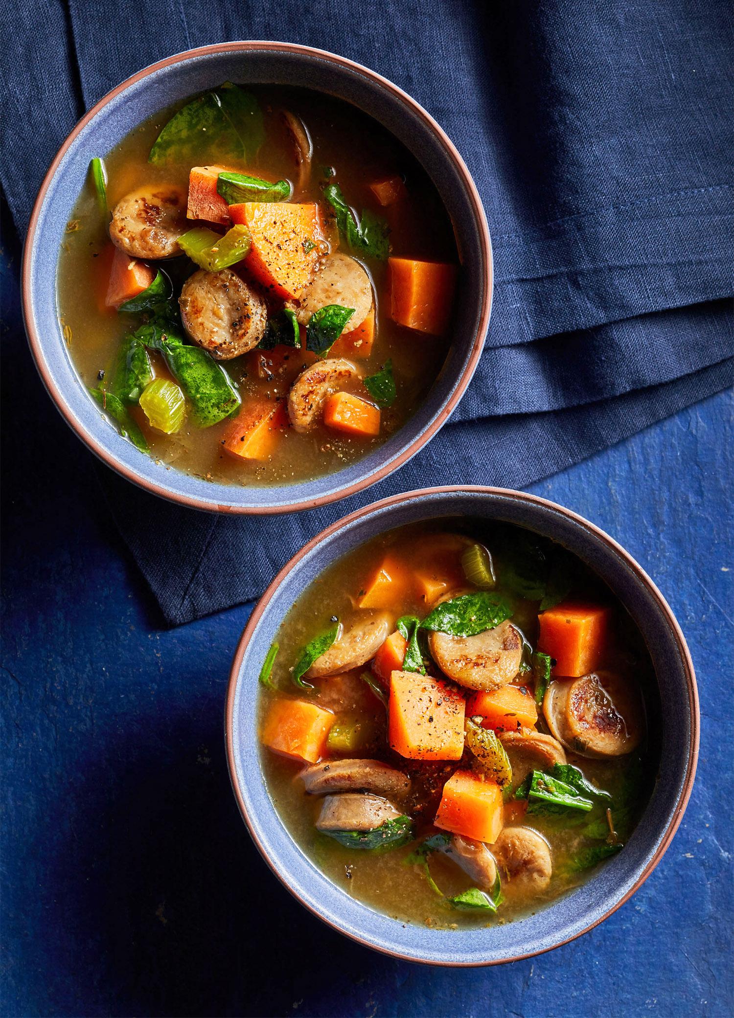 Sausage-Sweet Potato Soup