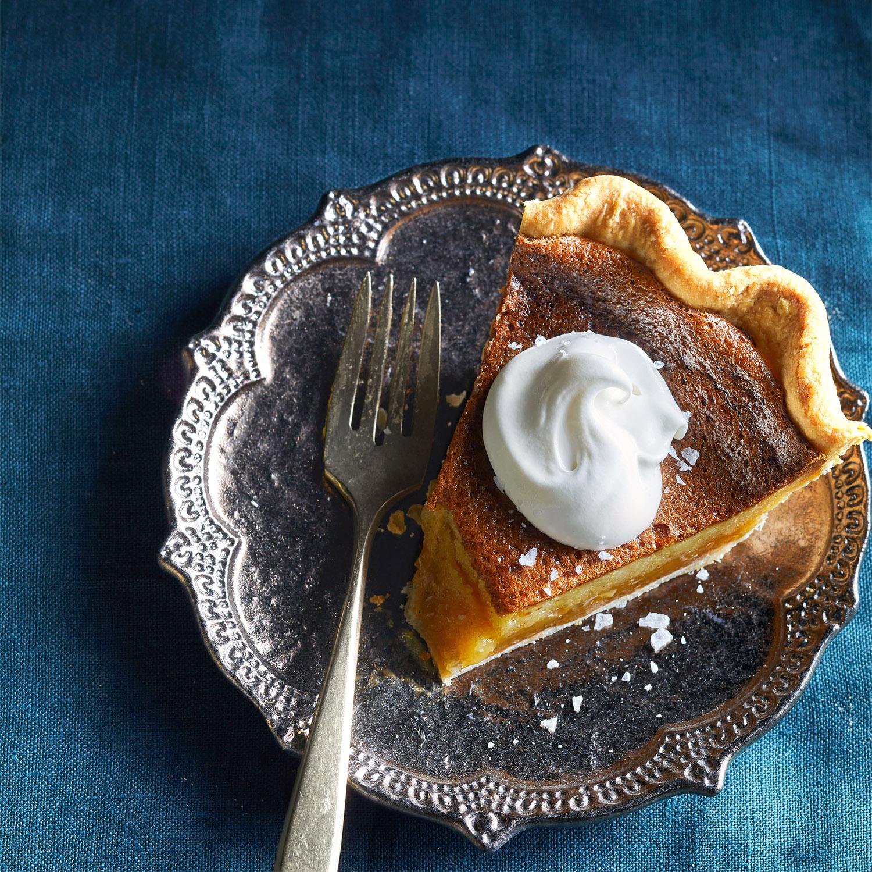 Honey Vinegar Pie