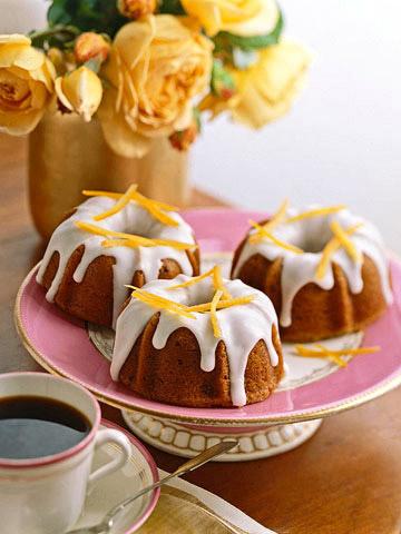 Mini Fig Bundt Cakes