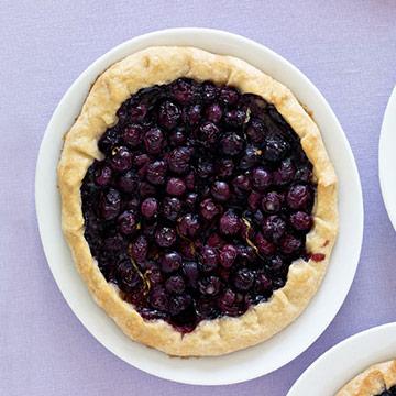 Sugar-Free Blueberry Tarts