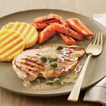 Grilled Chicken Francese-Style