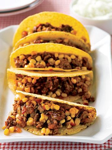 Turkey Picadillo Tacos