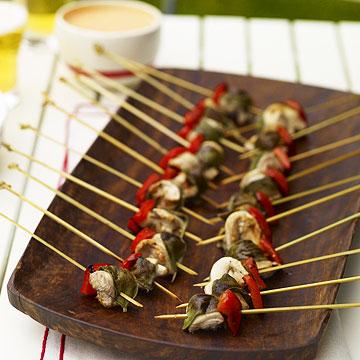 Chicken Appetizer Kebabs