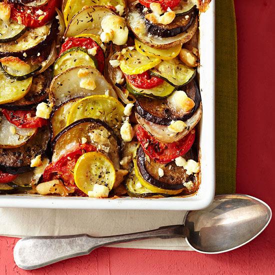 Provencal Summer Vegetable Bake