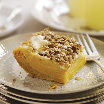 Sweet Potato Cheesecake Squares