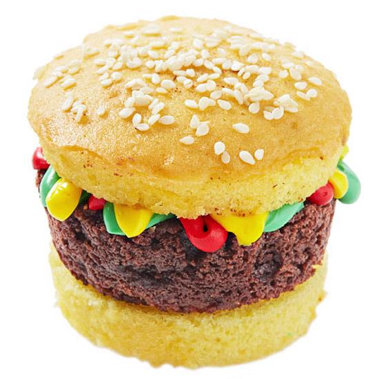 Dessert Slider: Burger Cupcake
