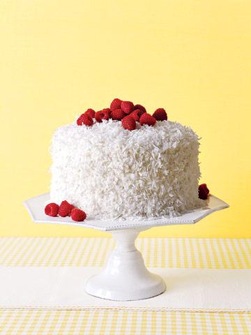 Mile-High Coconut Cake