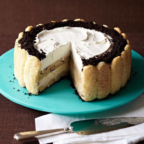 Tiramisu Ice Cream Cake