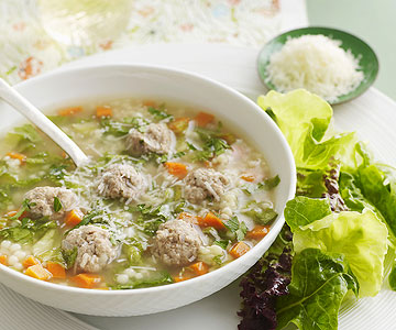 Slow-Cooker Italian Wedding Soup