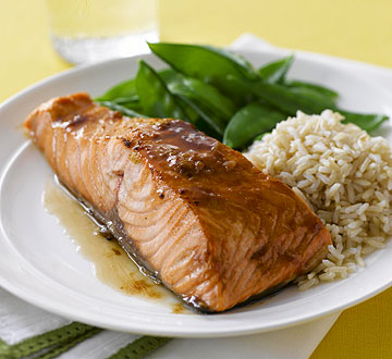 Brown-Sugar-Glazed Salmon