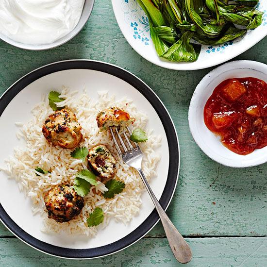 Curried Chicken Meatballs