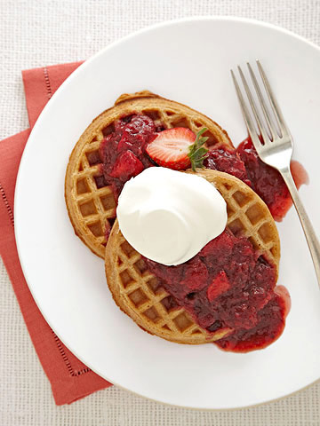 Chunky Gingered Strawberry Sauce