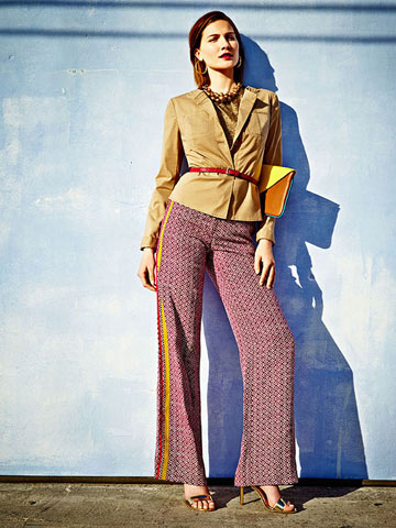 Trend to Try: Printed Trousers