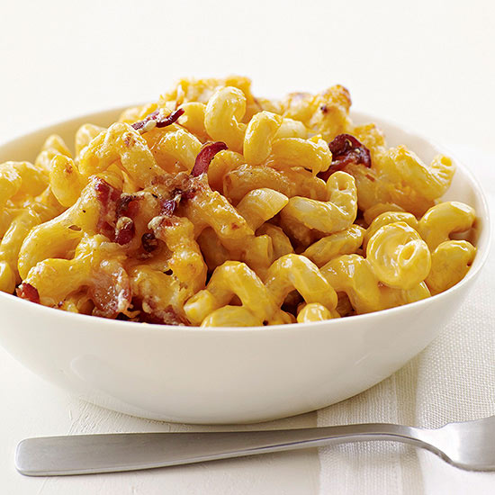 Four Cheese with Bacon Mac