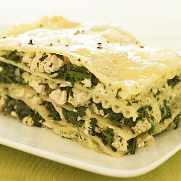 Chicken & Pesto Lasagna