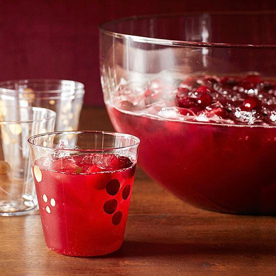 Cranberry-Hibiscus Spritzer