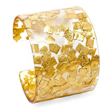 Gold Metallic Cuff