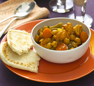 Hot Vegetable Curry